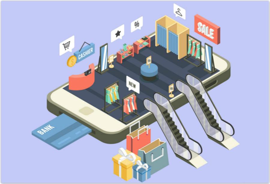 商领云开发新零售类手机APP