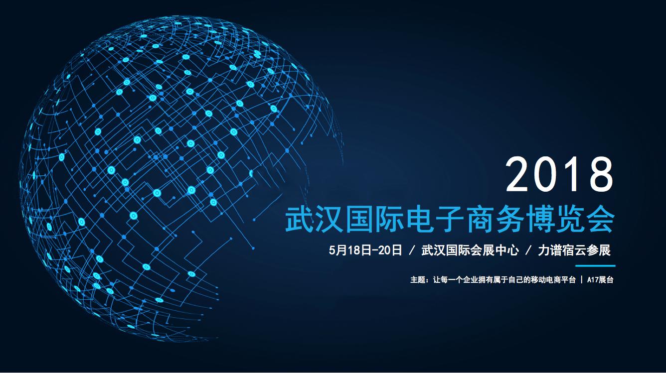 商领云参展武汉国际电子商务博览会