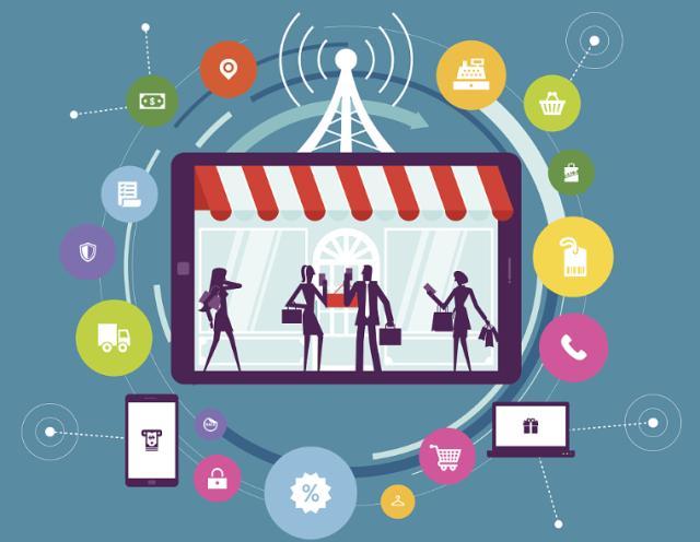 商领云移动零售解决方案抢先制作手机APP